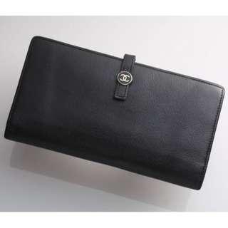 Vintage CHANEL CoCo Long Wallet有貼