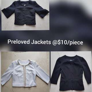 Preloved Cropped Jackets