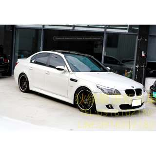 04年 BMW E60 520改530白