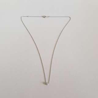 白金鑽石項鍊