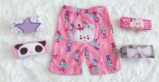 5 in 1 Carter's Shorts (Girl) 9M - 12M