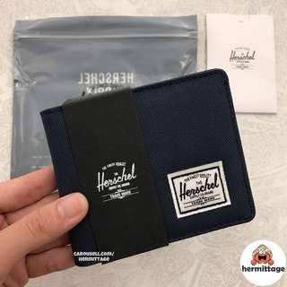 [INSTOCK] Herschel Roy Bifold Wallet Coin - NAVY BLUE