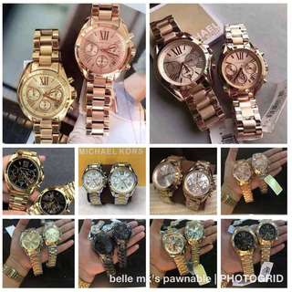 💯%Authentic mk watch