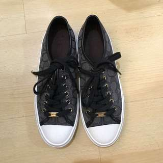 Authentic Brand New Coach rubber shoes