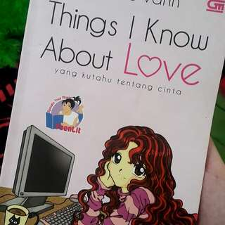 Buku / Novel  Things i know about love by kate le vann