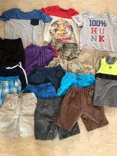 preloved boys clothes bundle
