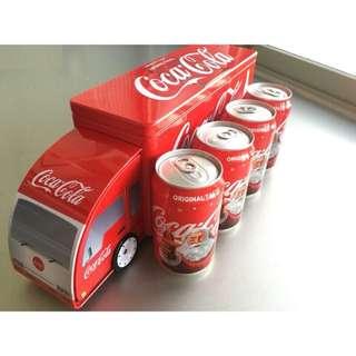 最後2組~限量頂好聖誕 貨車包裝CoCa Cola 可口可樂 伴手禮質感收藏