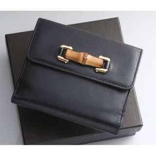 Vintage GUCCI Bamboo Wallet連盒