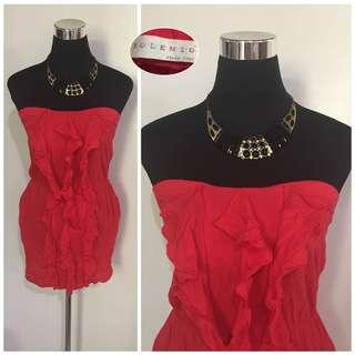 Red Tube dress (S-M)