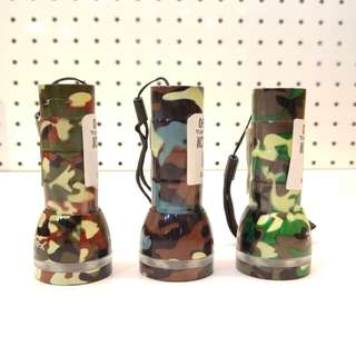 Mini Camouflage Torch Light (3 Colours)
