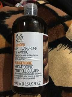 sale! The Body Shop ginger antidandruff shampoo