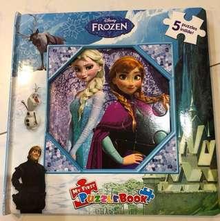 Frozen puzzle book