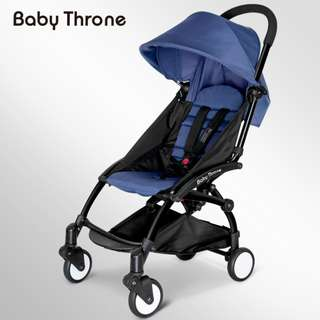 ORIGINAL Navy Blue Baby Throne Stroller – Classic (Ultralight weight)