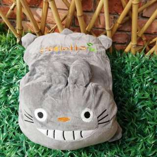 plush toy pillow with blanket