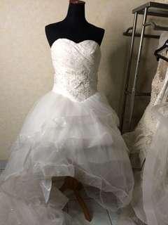 gaun pengantin prewed wedding gown pesta