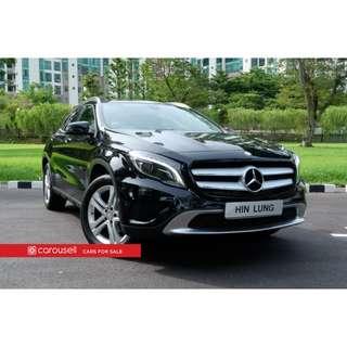 Mercedes Benz GLA-Class GLA180