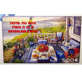 Jigsaw Puzzle - 500 pieces - Seaside (Pre-Owned)