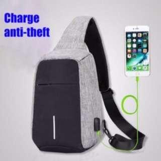 Anti theft Sling bag