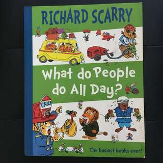 What Do People Do All Day by Richard Scarry