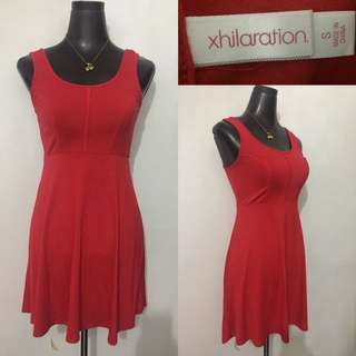 Xhilaration red dress