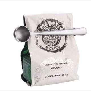 咖啡豆封口夾二入