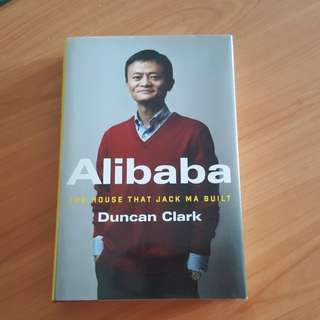Autographed Alibaba (Jack Ma) by Duncan Clark