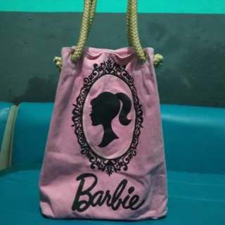 barbie bag pink