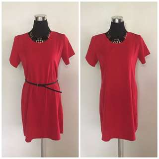 Red Dress (belt not included) M-L