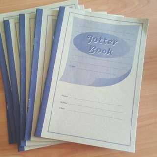 Jotter Book (x6)