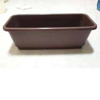 Large box planter box - 47cm x 19cm x 17cm