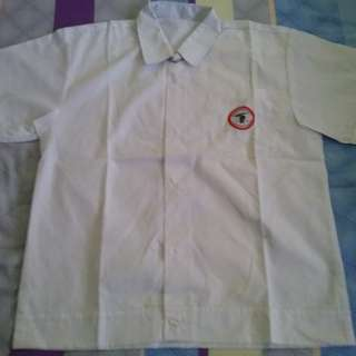 Tampines Primary School uniform - boy shirt
