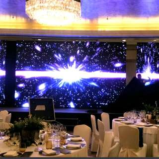 LED wall for company events avl sound and light