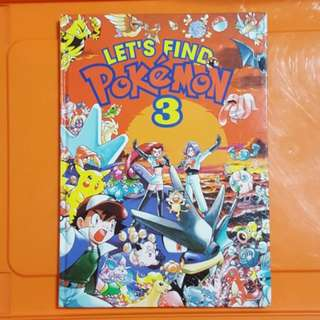 0403 NEW Let's Find Pokemon 3 Activity Book