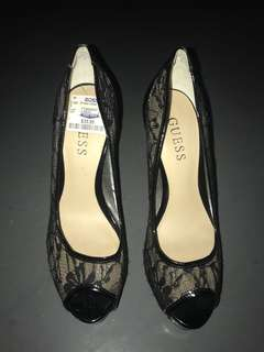 Guess lace pump heels