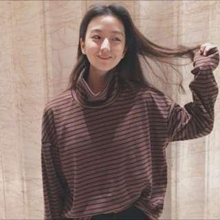 韓版秋季長袖薄t恤