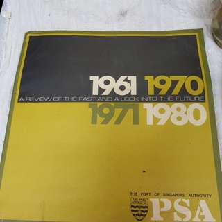 #0330 - PSA 1961~1980 book