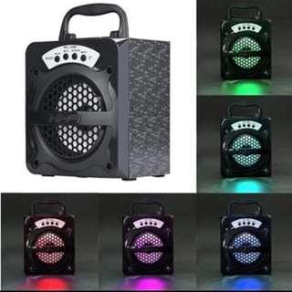 Portable bluetooth LED USB SPEAKER