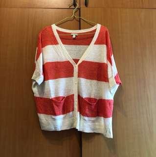 美國🇺🇸Gap落肩短袖針織外套S號