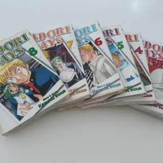 Midori days 8 by inque karurou x 7 books