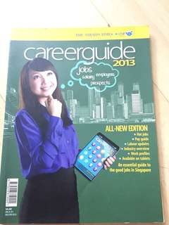 Career guide The straits times
