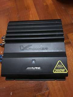 Alpine 4 channel amplifer
