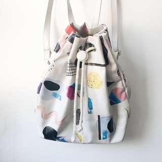 Monki Irma Drawstring Backpack