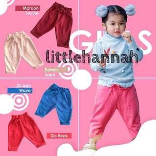 🍭Instock - Fancy Pants Girls (1-3Y/3-5Y)