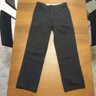 二手 Dickies 874 工作褲 正常版型 深咖啡色