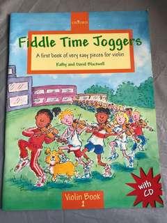 Fiddle Time Joggers Violin Book