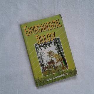 Preloved Environmental Biology Book