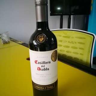 Casillero del diablo紅酒