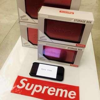 100% New Supreme x SIGG Metal Box Large