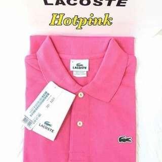 Lacoste classic shirt