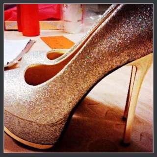 降價!手工婚禮跟鞋